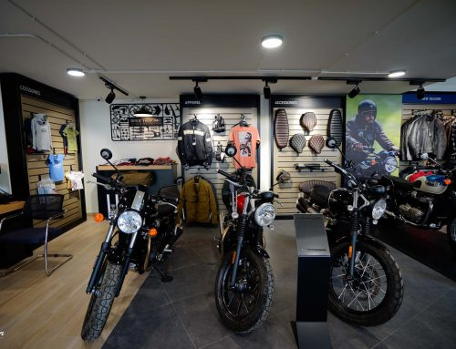 Το νέο κατάστημα της Triumph