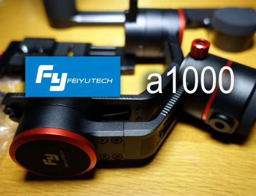 Feiyu-Tech A1000 unboxing