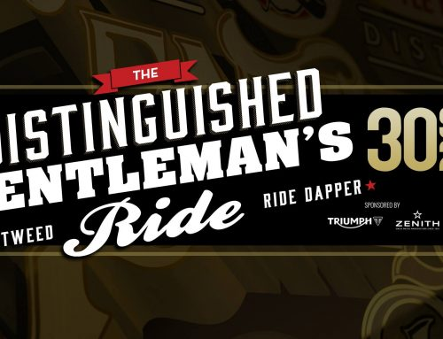 The Distinguished Gentleman's Ride DGR 2018 – Athens, Greece
