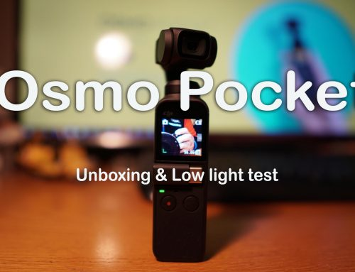 DJI Osmo Pocket – unboxing and low light test