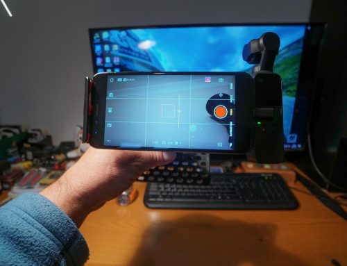 Osmo pocket smartphone Holder