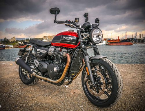 New Triumph Speed twin 1200