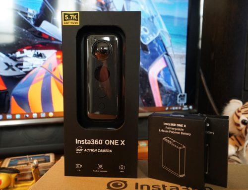 Ανοίγοντας την Insta360 one X, Unboxing & test