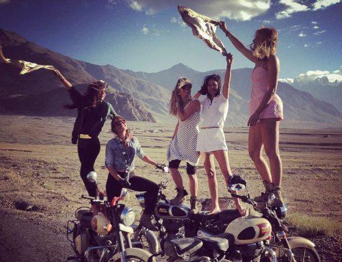 Πέντε κορίτσια από το Παρίσι στα ψηλά περάσματα των Ιμαλαΐων
