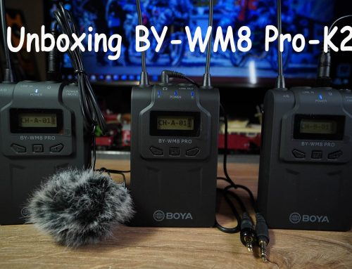 Unboxing BY-WM8 Pro-K2 Wireless Lavalier System
