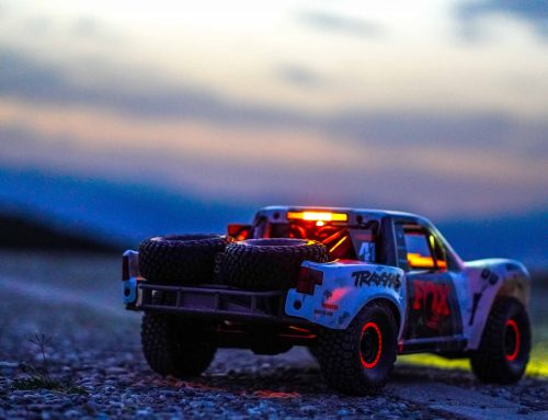 The Unlimited Desert Racer, Takes To The Streets for night ride