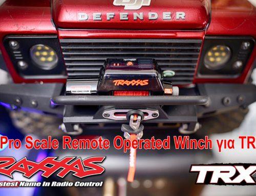 Τοποθέτηση το νέο Traxxas TRX4 Winch Kit | Pro Scale Remote Operated Winch για TRX4