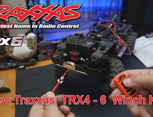 Τοποθέτηση το νέο Traxxas TRX4 – 6 Winch Kit | Pro Scale Remote Operated Winch για TRX4 TRX6